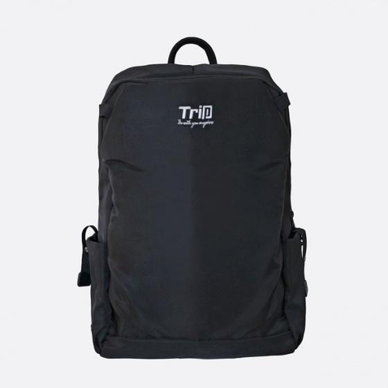 Balo nam đựng laptop cao cấp Trip TP-1902 màu đen
