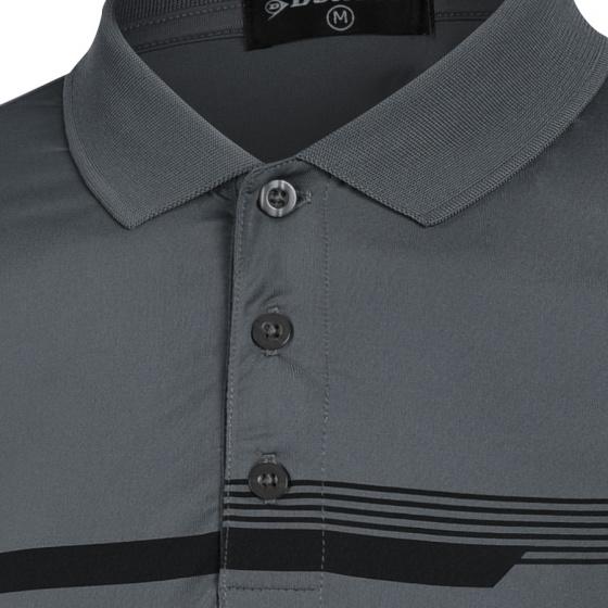 Áo thun thể thao Nam Dunlop - dates9071-1c Kiểu dáng Polo nam thoáng khí thoát mồ hôi tốt phù hợp vận động thể thao