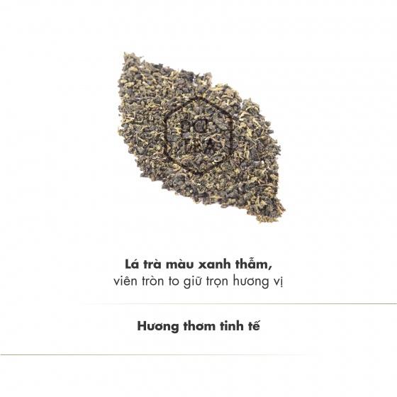 Chính nguyệt ô long trà gói 500g dotea chát nhẹ ngọt hậu sắc nước vàng trong