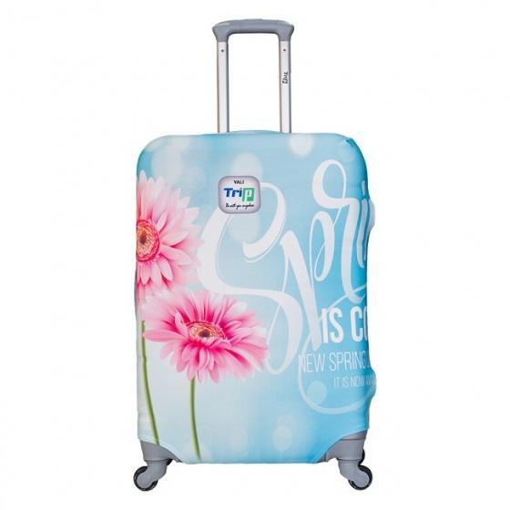 Áo trùm vali thun 4 chiều Trip Spring size L