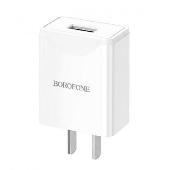Cóc sạc nhanh borofone CD1 2.1A 18W 1 cổng usb