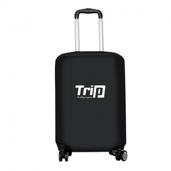 Áo trùm vali Trip vải dù chống thấm nước size M màu đen