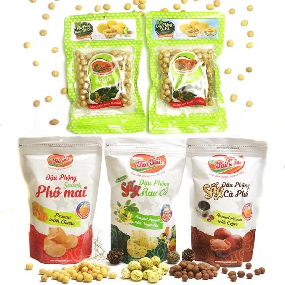 Combo 5 loại đậu phộng Tài Tài (685g)