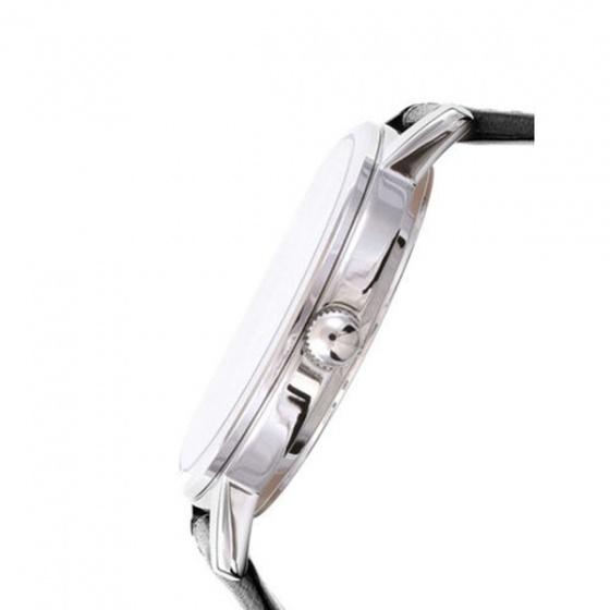 Đồng hồ nam Casio MTP-E159L-1BDF dây da - Mặt số có họa tiết Denim- Chống nước