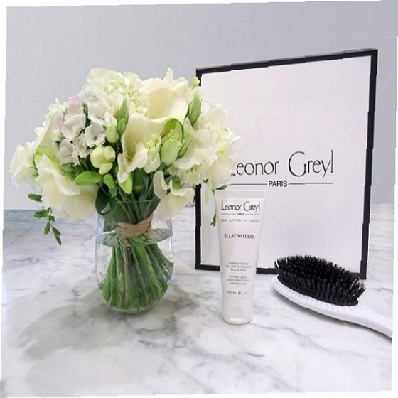 Kem Leonor Greyl tạo kiểu cho tóc xù, tạo sóng tự nhiên, gọn ngọn tóc Leonor Greyl Styling Eclat Naturel 150ml
