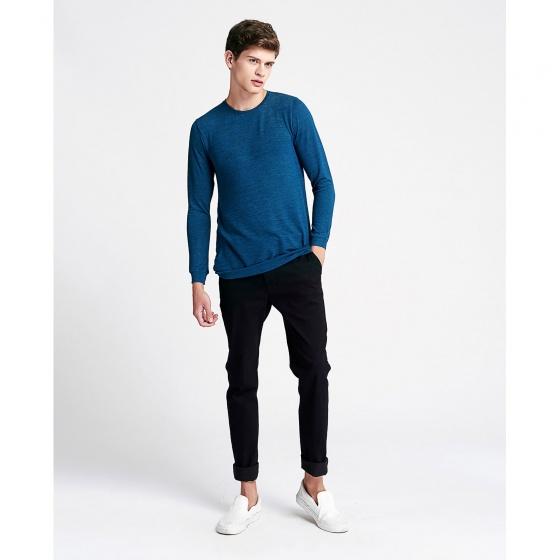 Áo thun nam The Cosmo Daniel Knit Tee màu xanh TC1021076CN