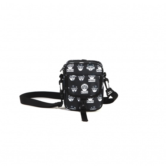 Túi đeo chéo Birdybag Springbag 1.0 pattern-black