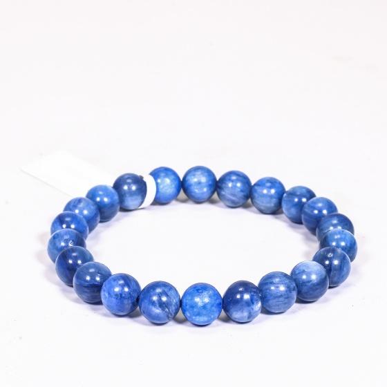Vòng tay đá kyanite size hạt 7mm mệnh thủy, mộc - Ngọc Quý Gemstones