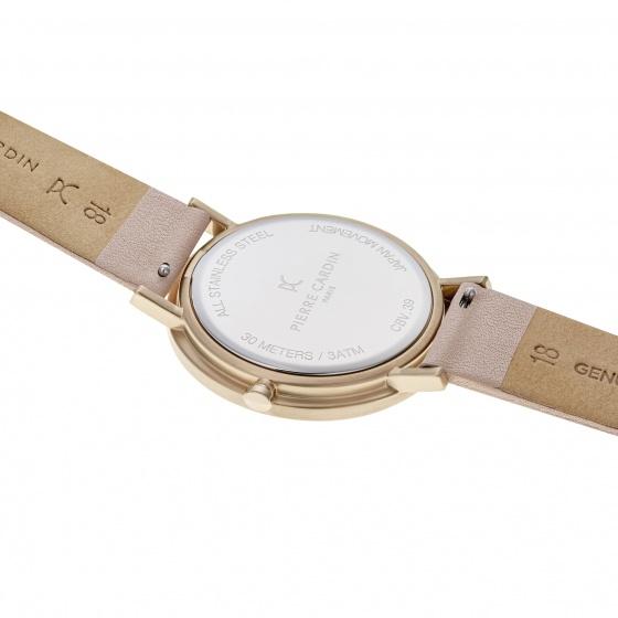 Đồng hồ nữ Pierre Cardin chính hãng CBV.1010 bảo hành 2 năm toàn cầu - máy pin thép không gỉ