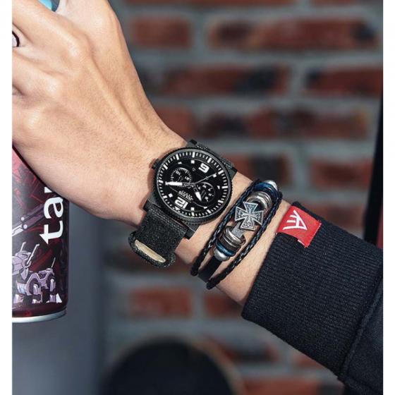 Đồng hồ nam Julius Hàn Quốc chính hãng JAH-115B Rêu