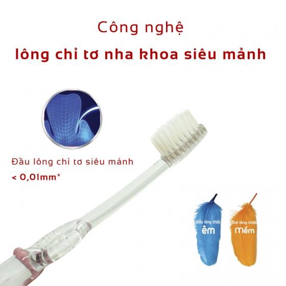 Bàn chải đánh răng chỉ tơ nha khoa - dành cho trẻ em trên 1 tuổi - LIPZO KIDS S1