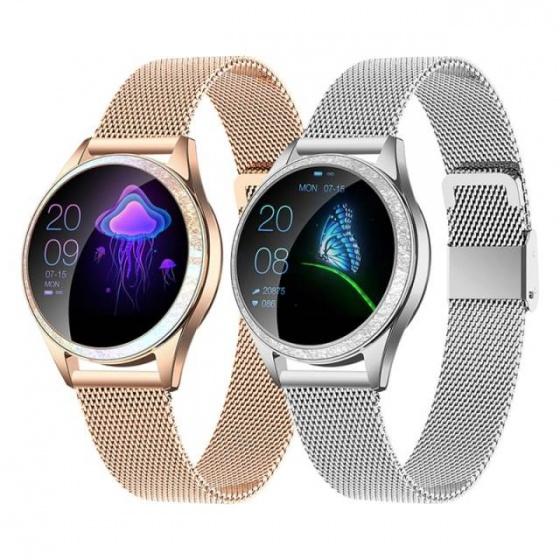 Đồng hồ thông minh Kingwear KW20 dây thép) - TOPSTORE