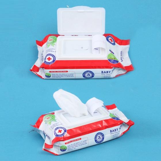 Combo 5 Gói Khăn giấy ướt Gool Garden Care Baby Wipes 80gr