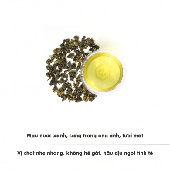 Trà ô long l462 - 50g chát dịu nhẹ thoảng hương thơm sữa đặc trưng
