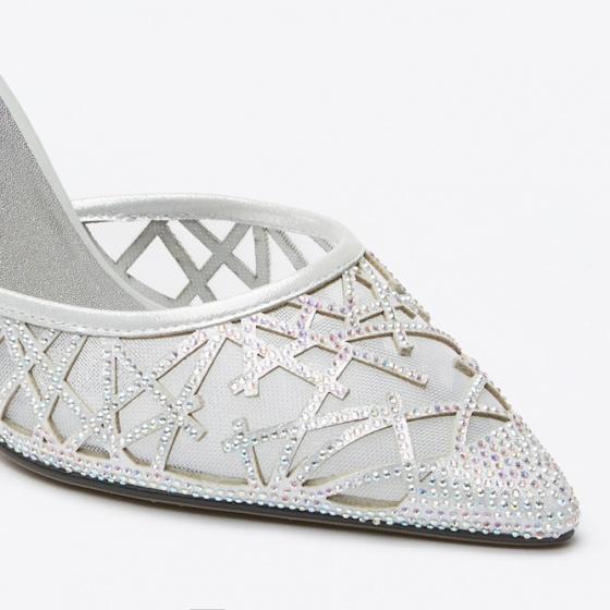 Giày cao gót Pazzion 2311-2 - SILVER