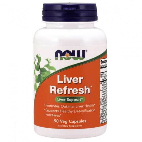 Liver Refresh™ - hỗ trợ giải độc gan, mát gan bổ thận, tăng tiết mật chai 90 viên [QC-Vneshop]