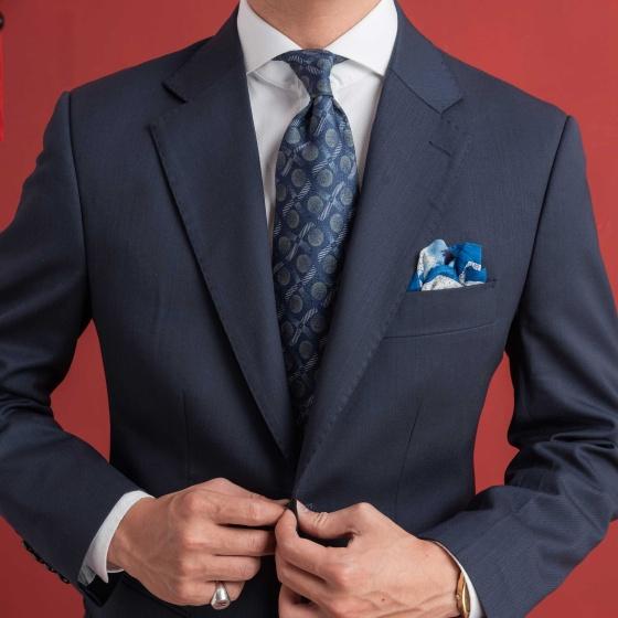 Bộ vest xanh navy đậm