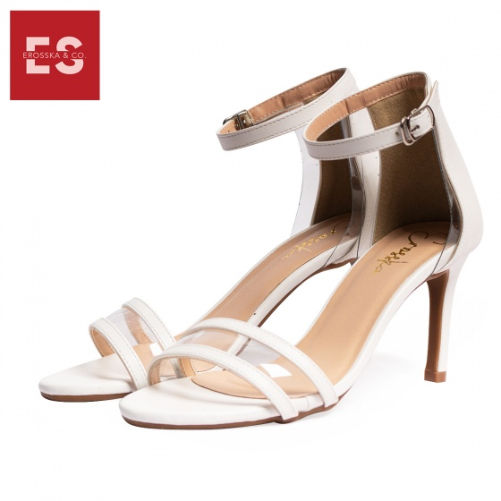 Giày sandal gót nhọn 5 phân thời trang Erosska EM017 (WH)