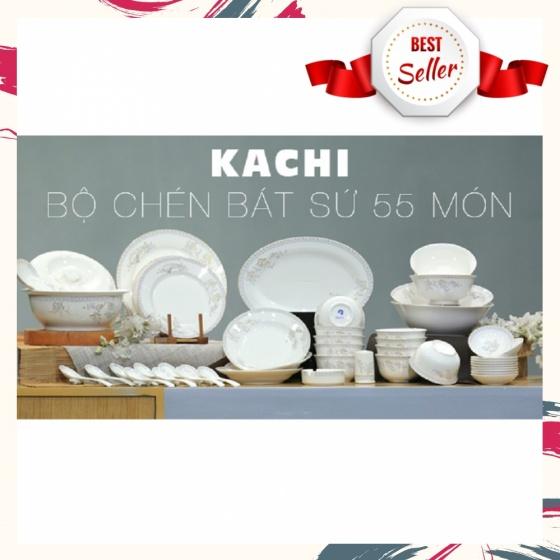 Bộ chén bát cao cấp 55 món Kachi