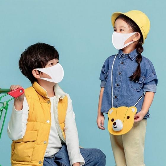 Hộp 15 chiếc khẩu trang Niva 3D cao cấp dành cho trẻ em - kháng khuẩn, chống bụi bảo vệ cho trẻ