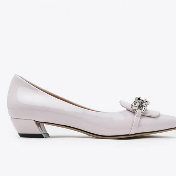 Giày gót thấp Pazzion 0533-1 - LIGHT PURPLE