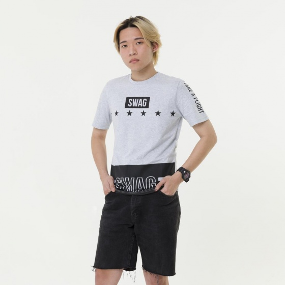 Áo phông thời trang nam Hàn Quốc Orange Factory 8L315MXC