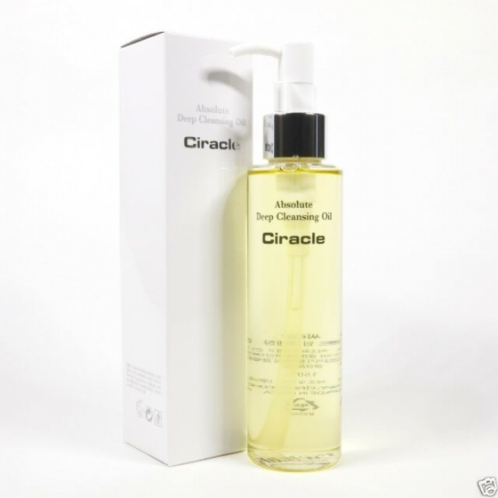 Dầu tẩy trang ciracle absolute deep cleansing oil