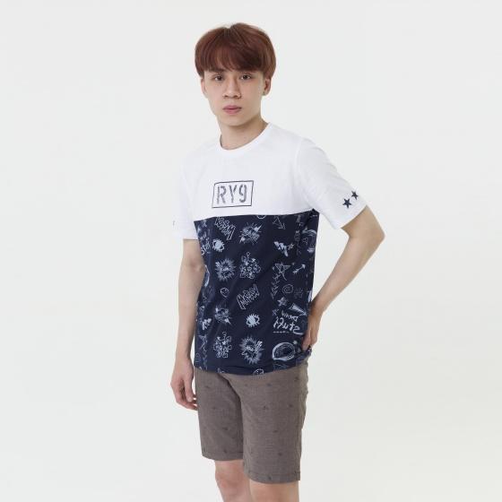 Áo phông thời trang nam Hàn Quốc Orange Factory 9L321MSW