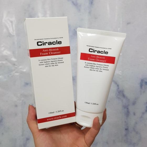 Sữa rửa mặt Ciracle Anti Blemish Foam Cleanser