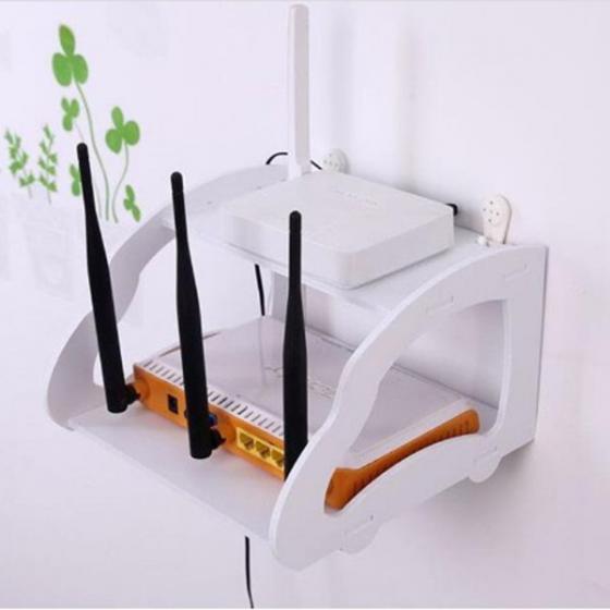 Kệ wifi mini treo tường 2 tầng