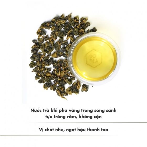Trà ô long l471 dotea 100g - chát dịu nhẹ thoảng hương thơm sữa đặc trưng