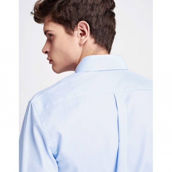 Áo sơ mi nam The Cosmo Jeffrey Shirt màu xanh TC1022079R1LB