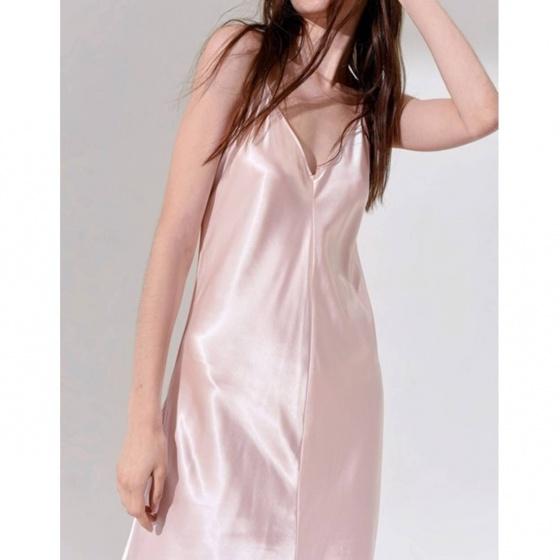 Đầm The Cosmo Reverie Strap Dress màu hồng TC2005212PI