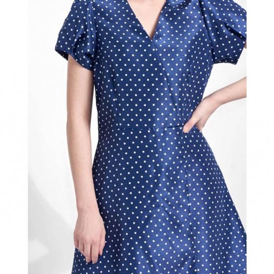 Đầm nữ The Cosmo Alysa Dress màu xanh dương TC2005209CO