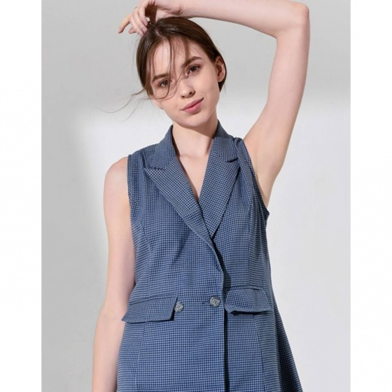 Đầm The Cosmo Tracy Dress màu xanh TC2005217BL