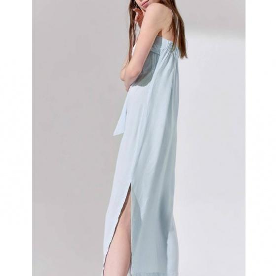Đầm 2 dây The Cosmo Lindsey Strap Dress sọc xanh TC2005213WH