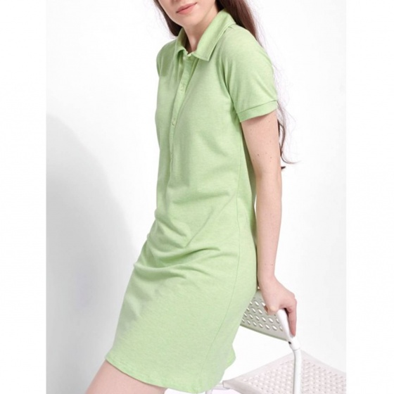 Đầm polo nữ The Cosmo Clarisa Polo Dress màu xanh lá TC2005172R1GE