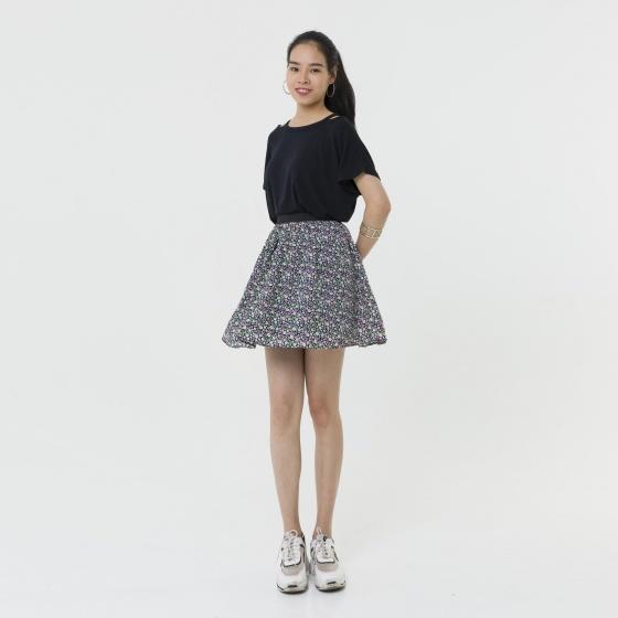 Chân váy xòe họa tiết hoa nhí thời trang Hàn Quốc 2RR2081ANV