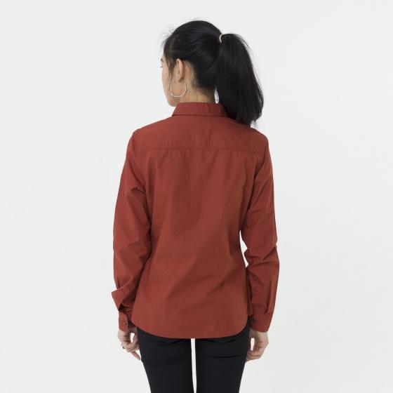 Áo sơ mi nữ cam thời trang Hàn Quốc Orange Factory 3WC3003OR