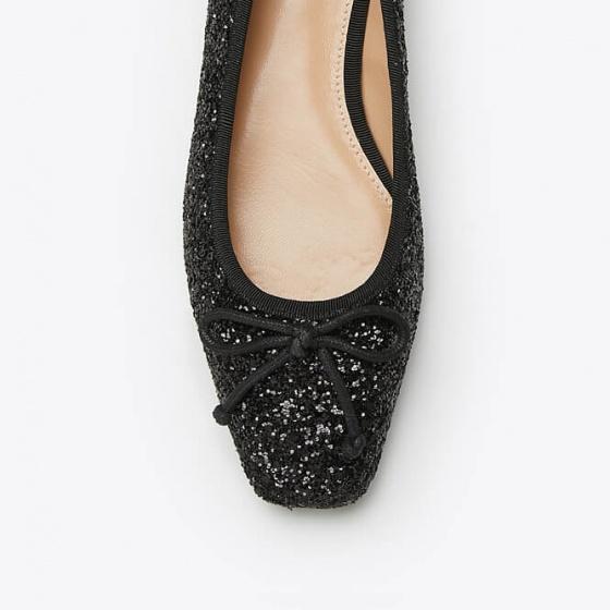 Giày mọi nữ Pazzion 3680-9 - BLACK