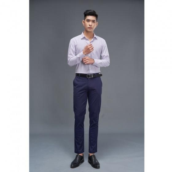 Áo sơ mi nam dài tay (regularfit) màu 1 DGC - SASD1913M
