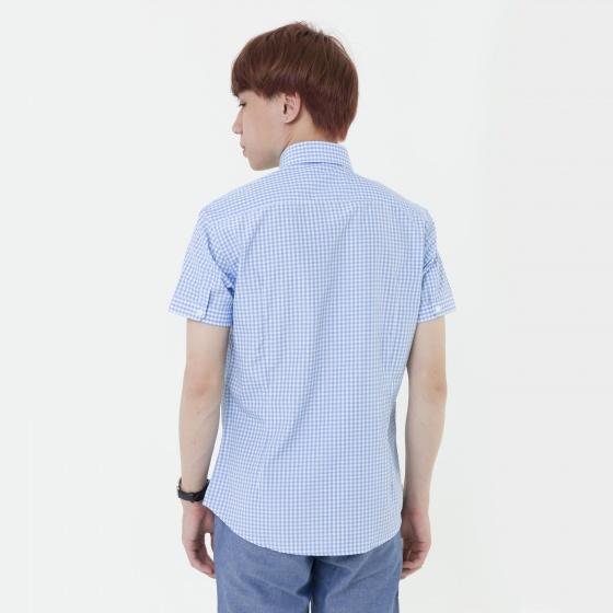 Áo sơ mi nam tay ngắn The Shirts Studio Hàn Quốc 42F2114BL