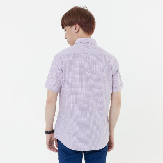 Áo sơ mi nam tay ngắn The Shirts Studio Hàn Quốc 45F2315OR