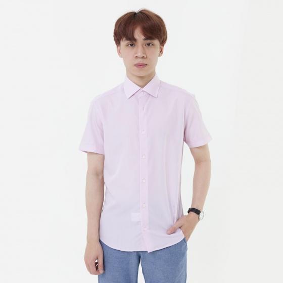 Áo sơ mi nam tay ngắn The Shirts Studio Hàn Quốc 13F2362PI