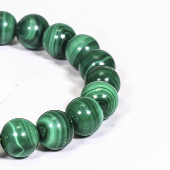 Vòng tay đá khổng tước size hạt 8mm mệnh hỏa, mộc - Ngọc Quý Gemstones