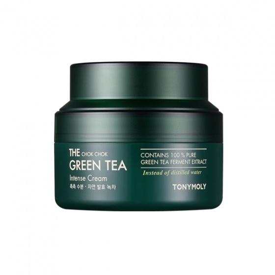 Kem Trà Xanh Giúp Dưỡng Ẩm Và Chống Oxy Hóa Cho Da Khô - The Chok Chok Green Tea Intense Cream 60ml