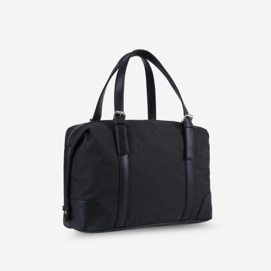 Túi xách du lịch đa năng unisex chữ nhật phối dây da IDIGO UB2-517-00