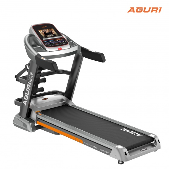 Máy chạy bộ điện - Máy chạy bộ gia đình - Máy chạy bộ gia đình cao cấp Aguri AGT-104T