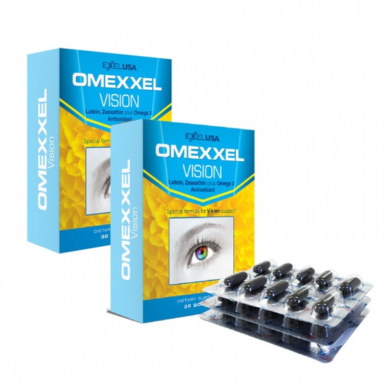 Combo 2 hộp viên uống bổ mắt Omexxel Vision (60 viên)