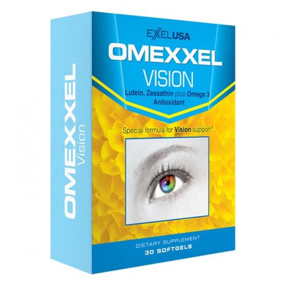 Viên uống bổ mắt Omexxel Vision (Hộp 30 viên) - xuất xứ Mỹ [QC-Vneshop]